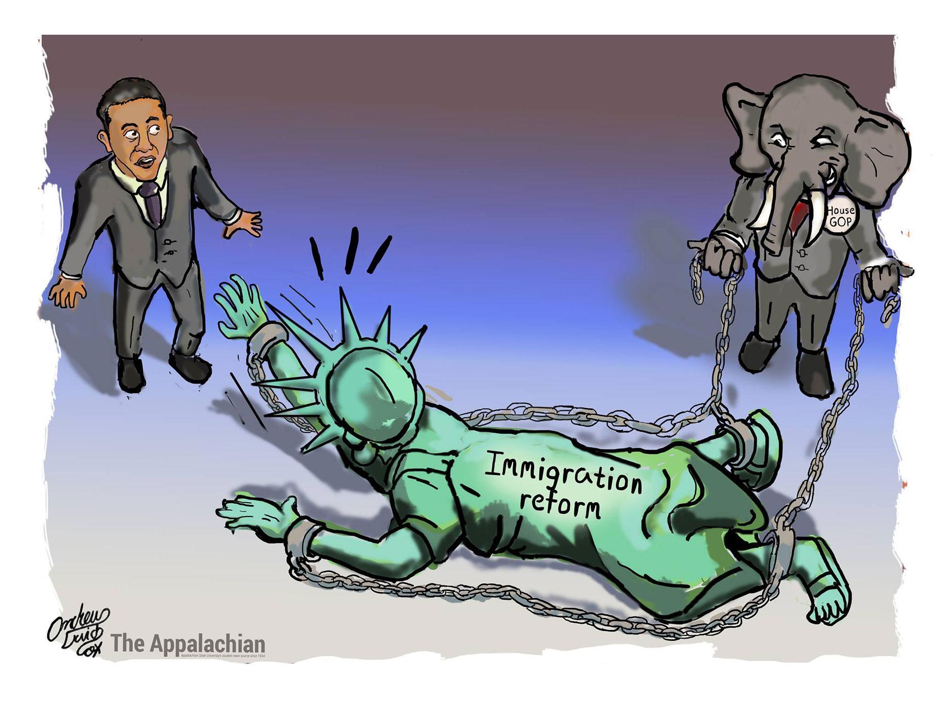 Editorial Cartoon 1
